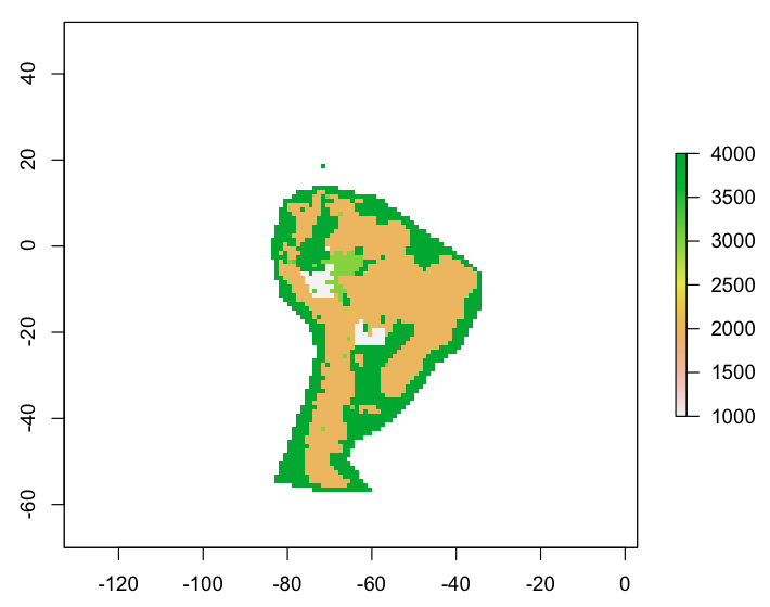 Using R to Create a Winner-Takes-All Raster from Point Data