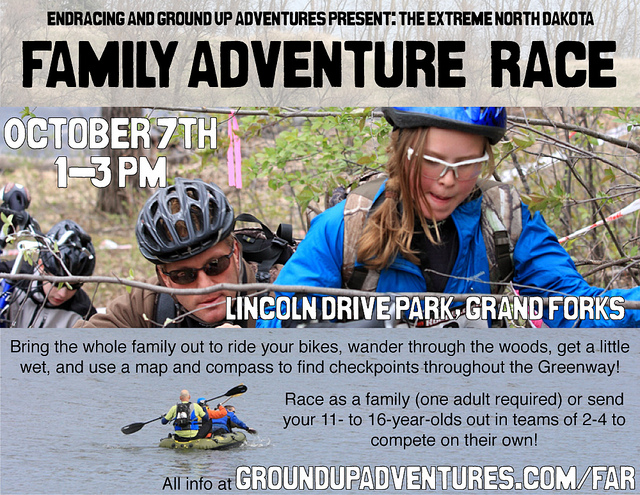 Flyer: Family Adventure Race